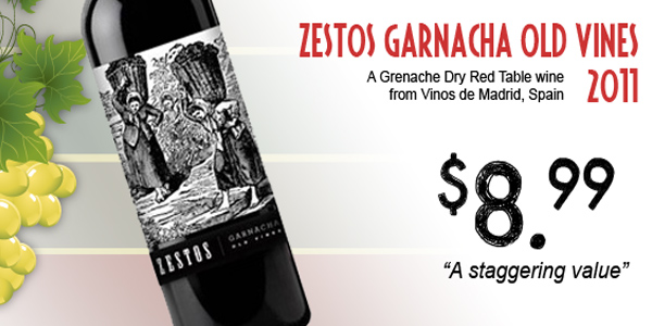 Zestos Garnacha Old Vines 2011
